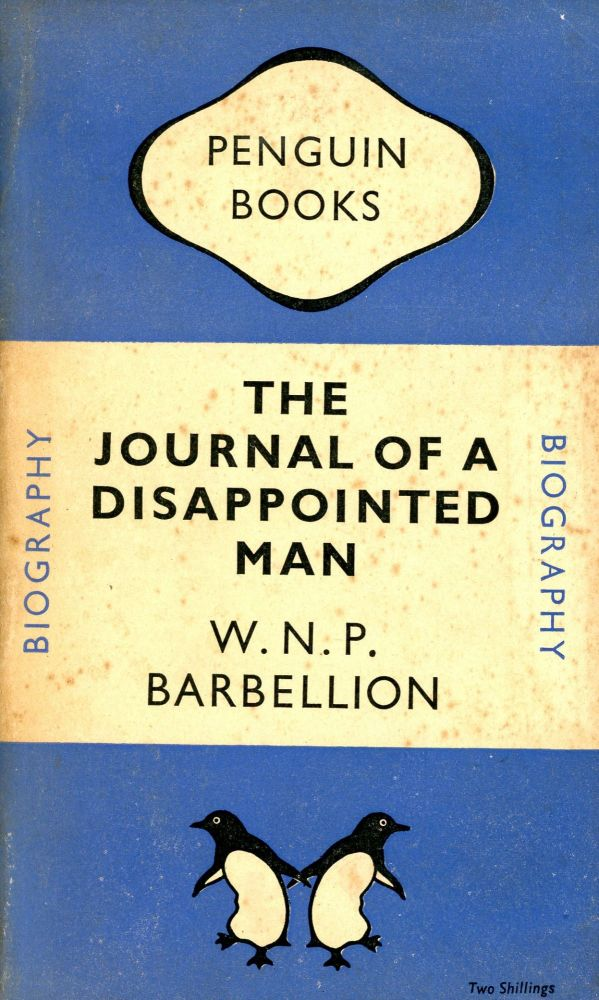 Journal of a Disappointed Man. BARBELLION.
