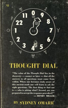 Thought Dial. Sydney OMARR, Introduction Carl Payne Tobey