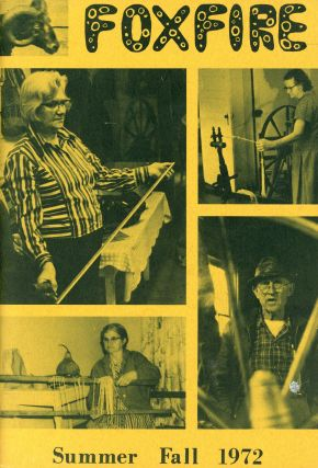 Foxfire: Volume 6, Summer–Fall 1972, Number 2/3 (Special Weaving Issue). Eddie BINGHAM