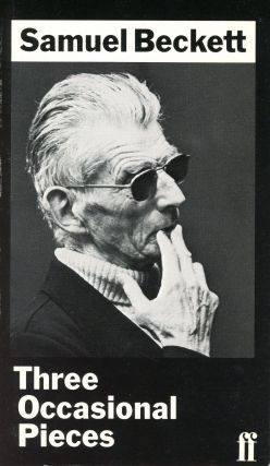 Three Occasional Pieces. Samuel BECKETT