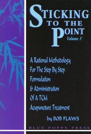 Sticking to the Point [Two Volume Set]. Bob FLAWS